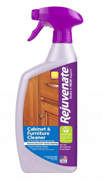 Rejuvenate® RJ24CC pH Balanced Residue Free Cabinet & Furniture Cleaner, 24 Oz