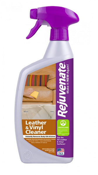 Rejuvenate® RJ24CL Leather & Vinyl Cleaner, 24 Oz