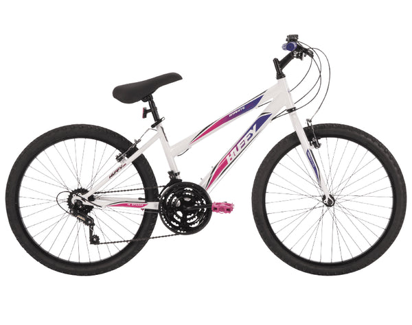 Huffy 24516 Granite™ Girls Mountain Bike, Neon Pink, 24""