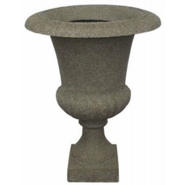 Williams Bay F069B-61 Havana Urn Fiberglass Planter, Limestone, 24""