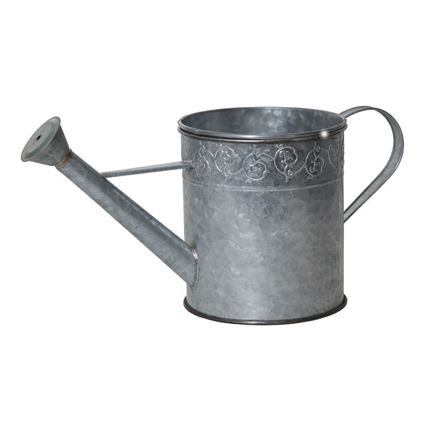 Pond Boss® SWCPS Watering Can Pond Spitter & Planter, Silver