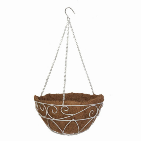 Panacea™ 83550 French Country Hanging Basket, 14""