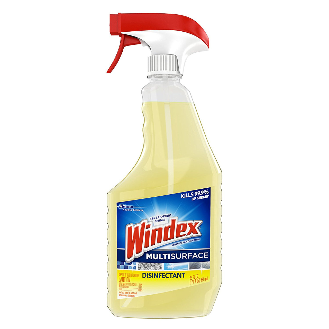 Windex 70251 Multi Surface Disinfectant Cleaner Spray, 23 Oz