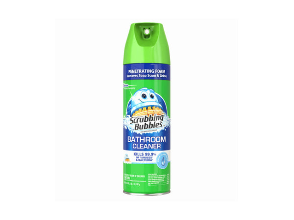 Scrubbing Bubbles 71367 Antibacterial Bathroom Cleaner, Fresh Clean, 20 Oz