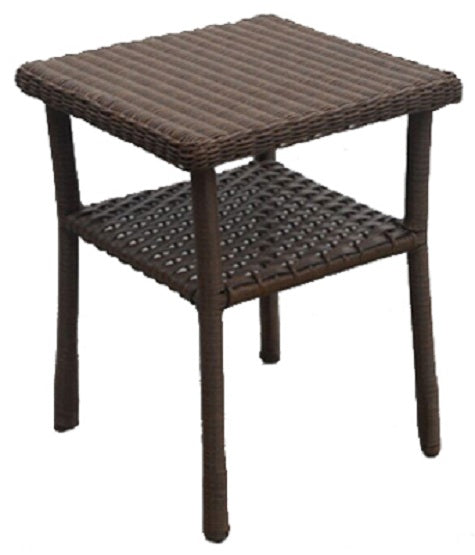 Four Seasons Courtyard 3331-009-017-02 Liberty End Table With Shelf