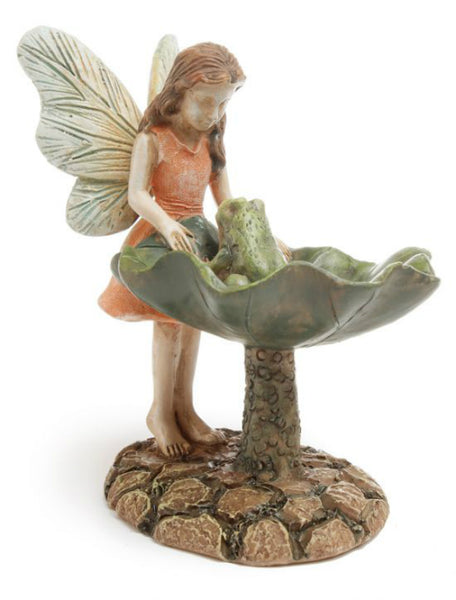 Marshall MG4 Woodland Knoll Collection Fairy Looking At Frog, 3""