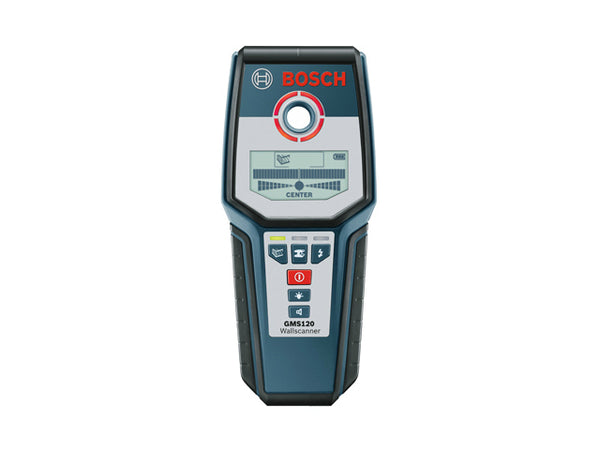Bosch GMS-120 Digital Multi Wall Scanner with Hand Strap, 9V Battery