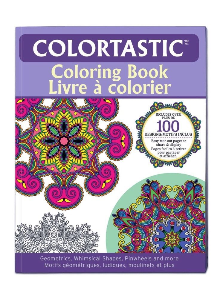 Colortastic™ 9960 Coloring Book for Grown Ups & Adults, As Seen On TV