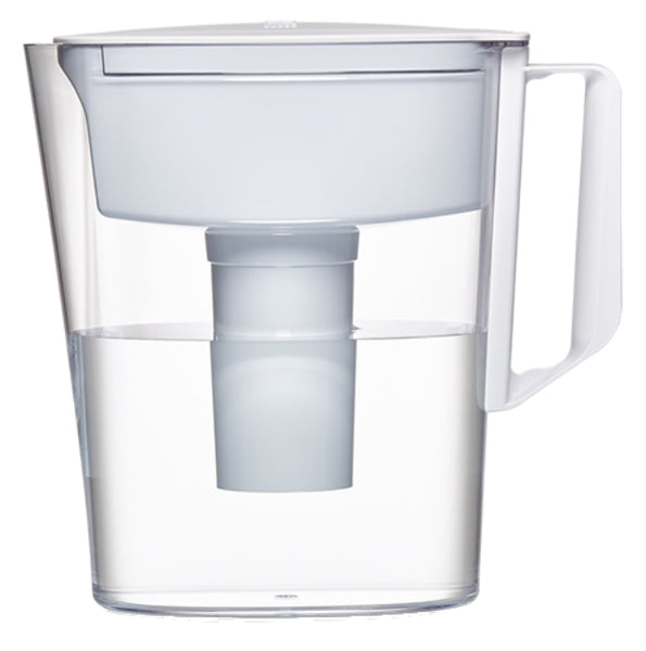 Brita® 36089 Soho Pitcher with 5-Cup Capacity, White