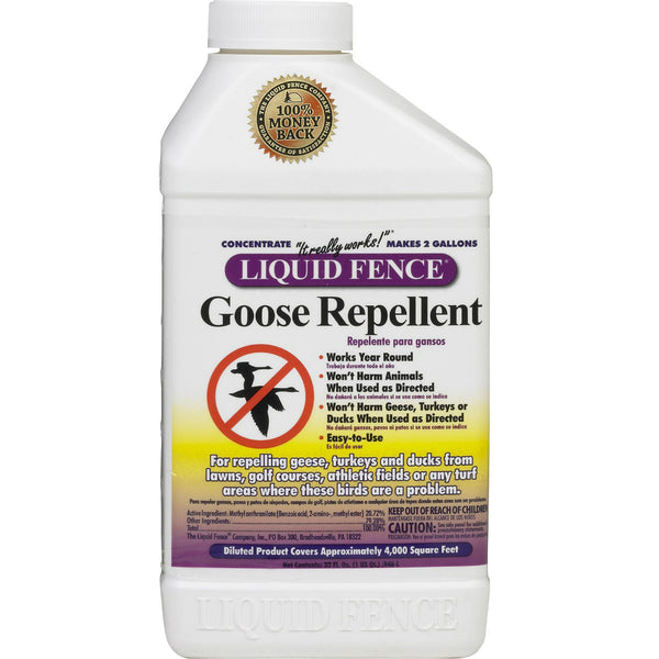 Liquid Fence® HG-1476 Goose Repellent, Concentrate, 1 Qt