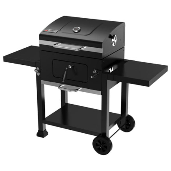 "Fire King BC222-A Charcoal Cart Grill w/ 2-Plastic Wheels, 24"", 359 Sq.In."