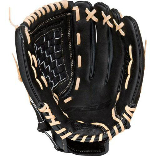 Rawlings RSS130C-6/0 RSB Slow Pitch Baseball Outfield Glove, R-Hand Throw, 13""