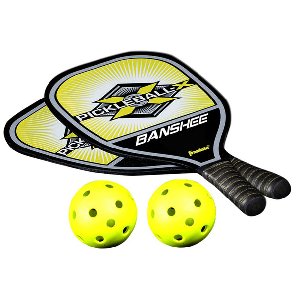 Franklin® 52710 Pickleball Pro Paddle & Ball Set w/ Durable Comfort Paddle Grip