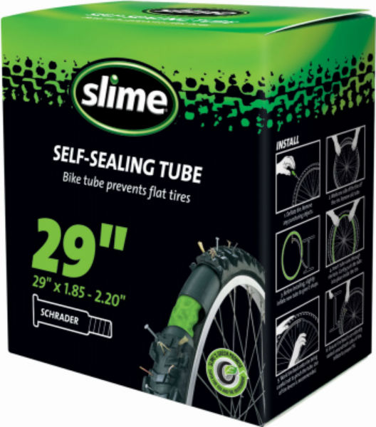 Slime® 30070 Self Sealing Bike Tube with Tube Sealant, 29""