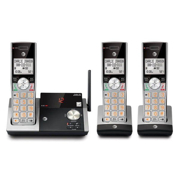AT&T® CL82315 Three-Handset Telephone Answering Systems w/Caller ID/Call Waiting