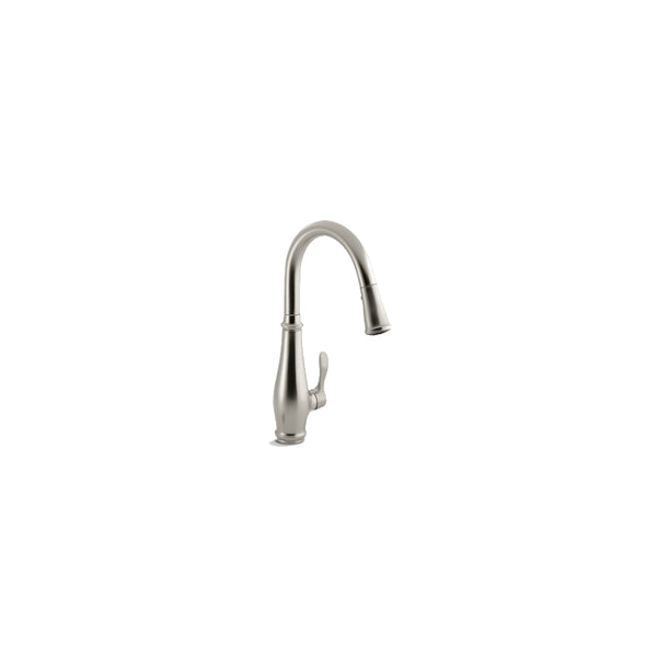 Kohler R780-VS Cruette 1-Handle Pull-Down Kitchen Faucet, Vibrant Stainless