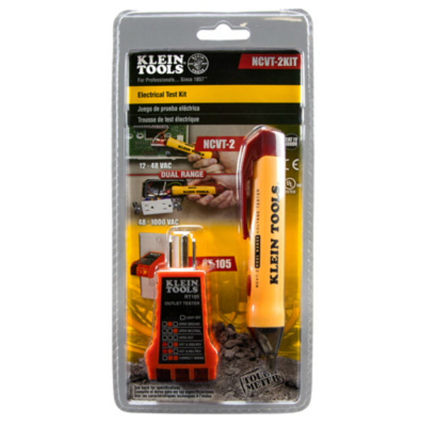 Klein Tools® NCVT2KIT Basic Voltage Test Kit