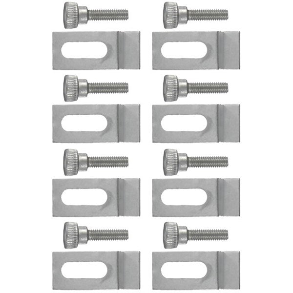 Wright Products™ V832CS Panel Clips, Aluminum, 8-Pack