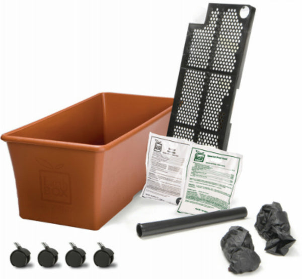 EarthBox® 80155 Organic Ready-To-Grow Garden Kit, Terra Cotta