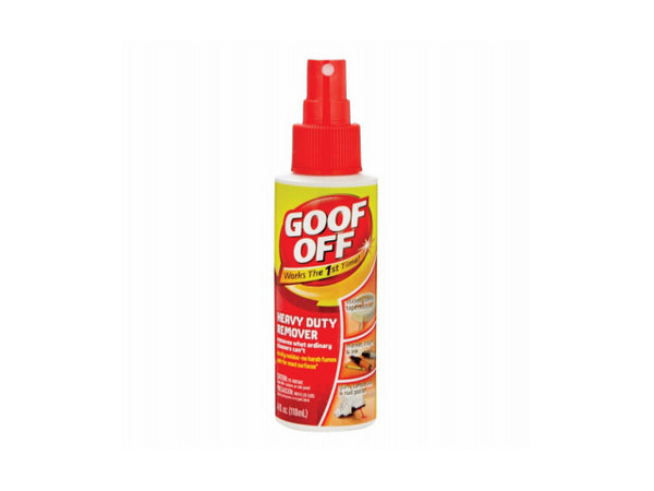 Goof Off® FG705 Water Based Heavy Duty Remover Pump Spray, 4 Oz