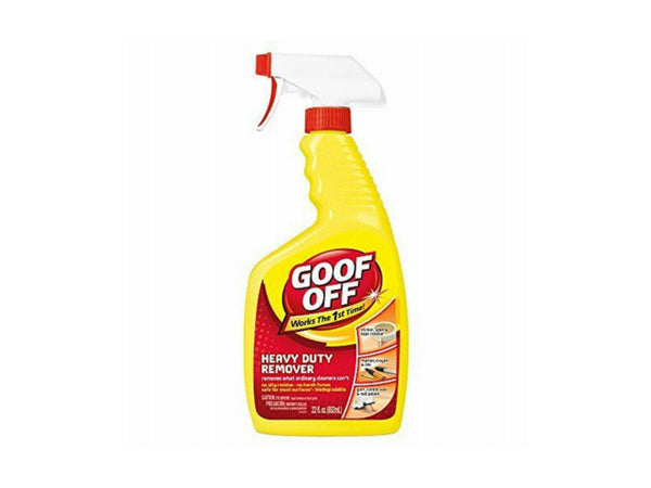 Goof Off FG659 Heavy Duty Spot Remover, 22 Oz