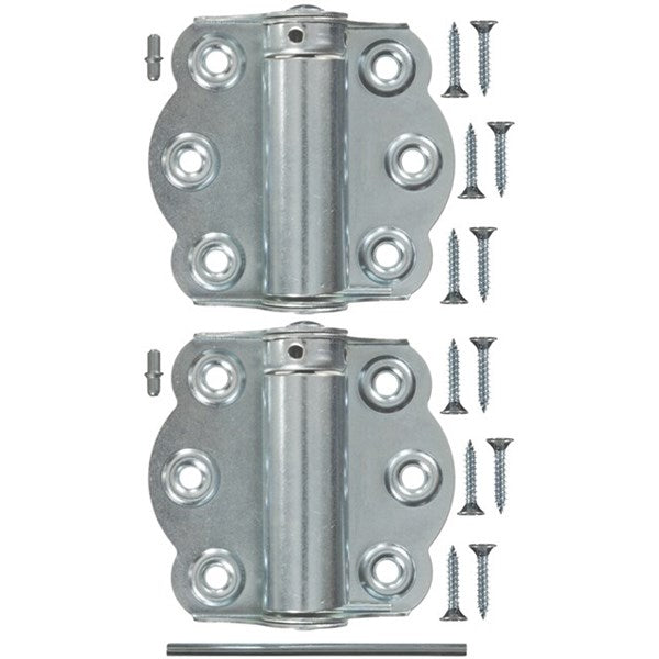 "Wright Products™ V650ZP Adjustable Self-Closing Hinge, Zinc Plated, 2-3/4"", 2-Pk"