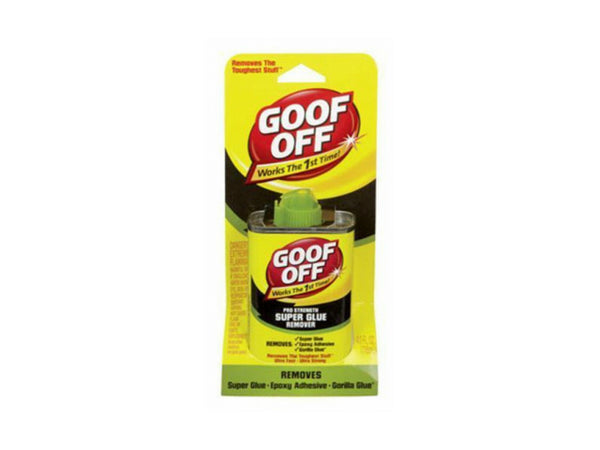 Goof Off® FG677 Pro Strength Super Glue Remover, 4 Oz