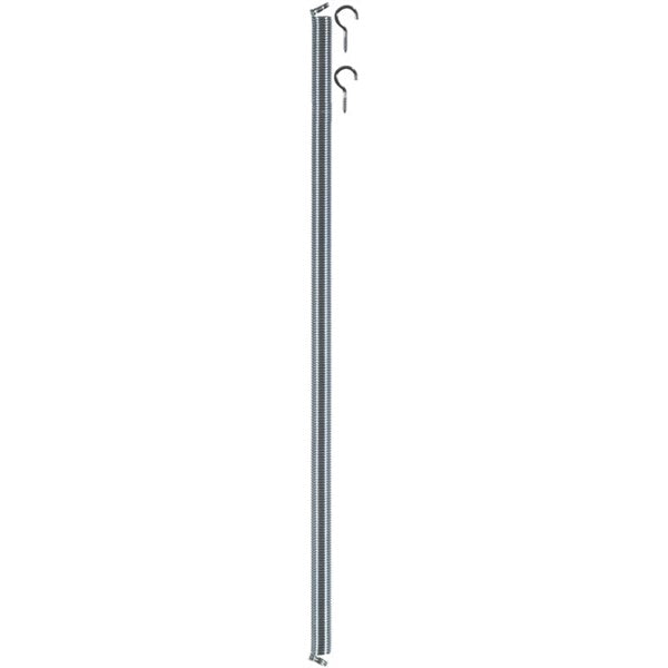 "Wright Products™ V6 Door Spring with Hooks, Zinc Plated, #6, 16"" x 1/2"""