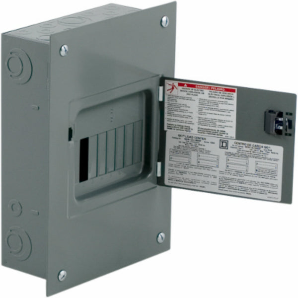 Square D QO612L100DF Lug Indoor Load Center, QO, 100 Amp