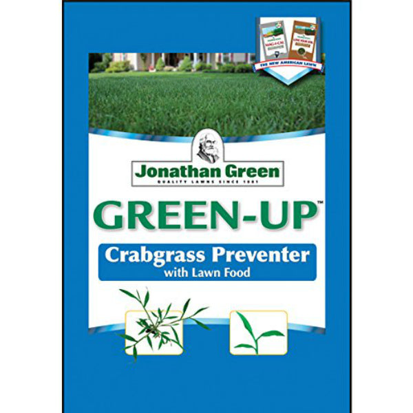 Jonathan Green 10457 Green-Up Crabgrass Preventor/Lawn Fertilizer, 22-0-3, 48Lb