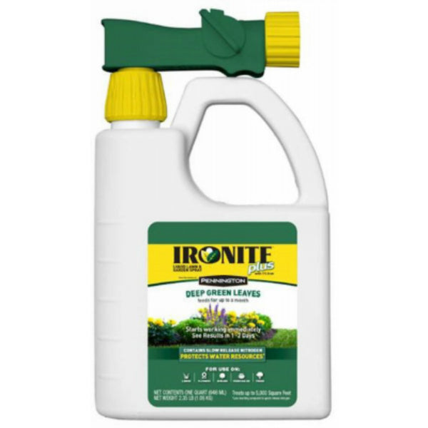 Ironite® Plus 100525937 Lawn & Garden Spray, 7-0-1, 5000 Sq.Ft., 32 Oz