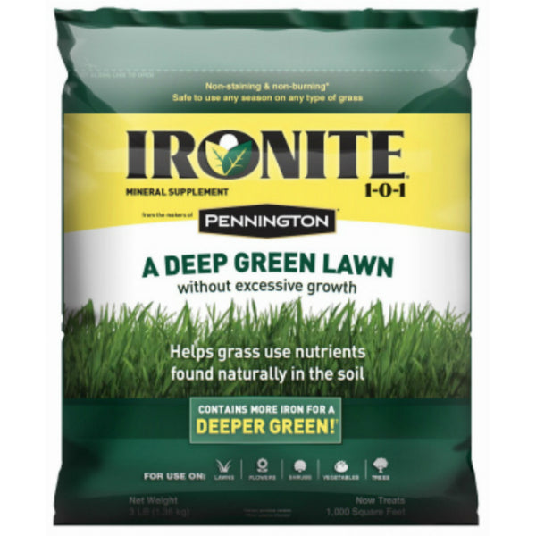 Ironite® 100524179 Mineral Supplement 1-0-1, 10000 Sq.ft., 30 Lb