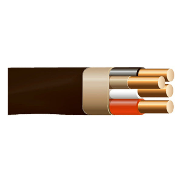 Cerrowire® 147-4203J Non-Metallic Sheathed Cable with Ground Wire, 500', 600V