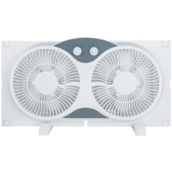 Westpointe WF-008 Twin Window Fan, 3-Functions, 9""