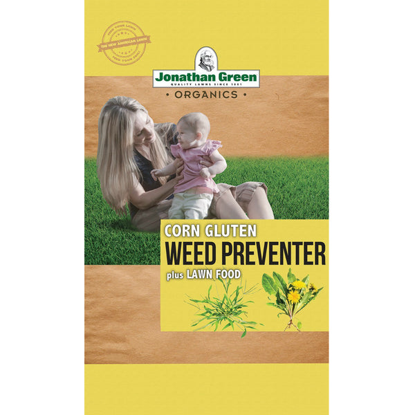 Jonathan Green 11588 Weed Control Plus Organic Fertilizer, 10-0-2, 25 Lbs