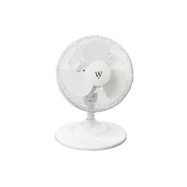 Westpointe MF-15F 2-Speed Clip/Desk Fan, 15 Watt