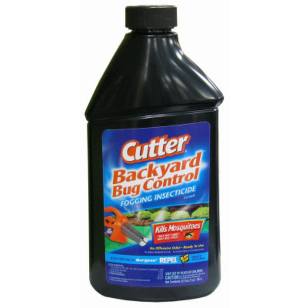 Cutter® 190368 Backyard Bug Control Fogging Insecticide, 32 Oz