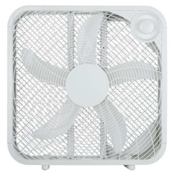 Westpointe FB50-16HW Box Fan with 3-Speed Settings, White, 20""