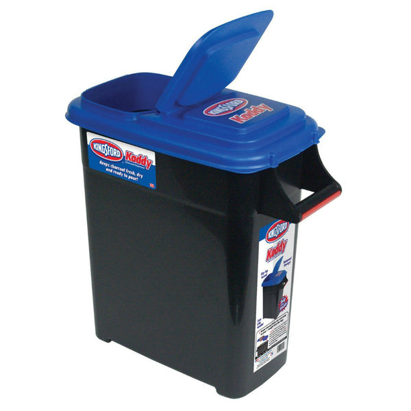 Kingsford® 00037B Kaddy Plastic Charcoal Dispenser, Large, Up-to 24 Lbs