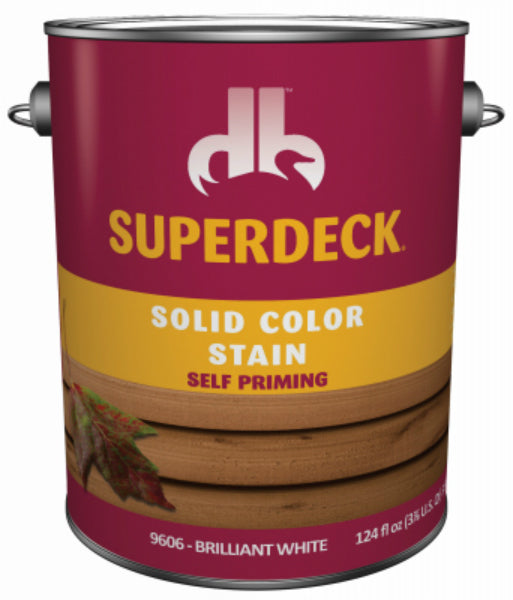 Superdeck® DPI053044-16 Solid Cool Feel Stain, Cabin Brown, 1 Gal