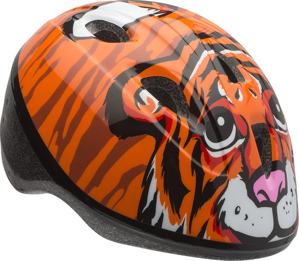 Bell® 7073340 Toddler Boy's Zoomer™ Bicycle Helmet, Orange Tiger