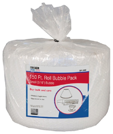 "Packer One™ SP-300 Small 3/16"" Bubble Pack, 12"" x 150' Roll"