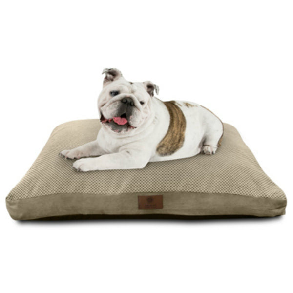 "American Kennel Club AKC9284TR Large Premium Gusset Pet Bed, Assorted, 27""x36"""