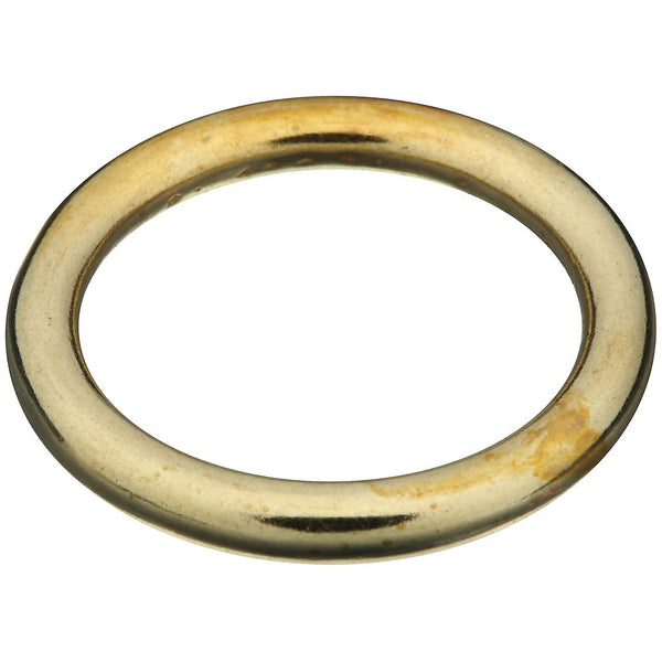 National Hardware® N258-707 Solid Brass Ring for Rope/Chain & Strap, 1""