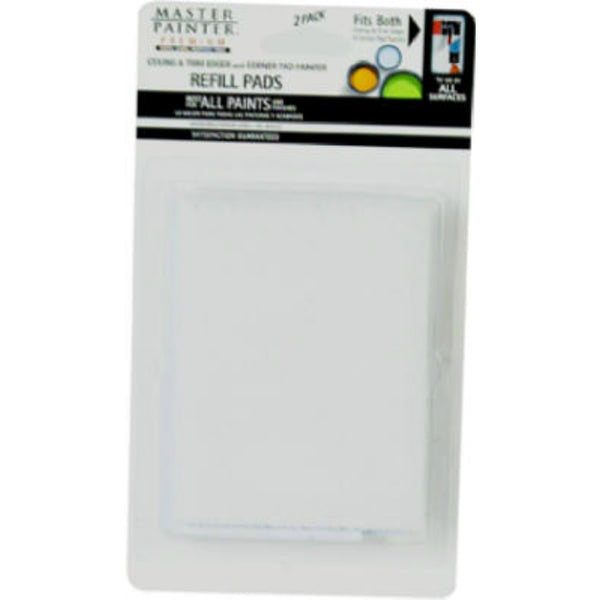 Master Painter® 70111TV Premium Paint Edger & Corner Painter Refill Pads, 2 Pack