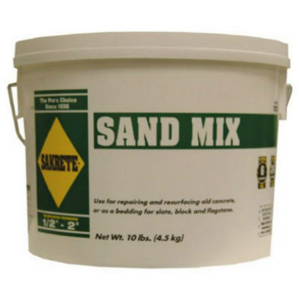 Sakrete® 40200818-RDC09 High Strength Sand Mix, 10 Lbs