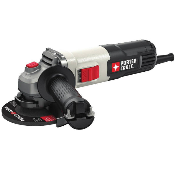 "Porter-Cable® PCE810 Small Angle Grinder/Cut-Off Tool, 4-1/2"", 7.0 Amp"