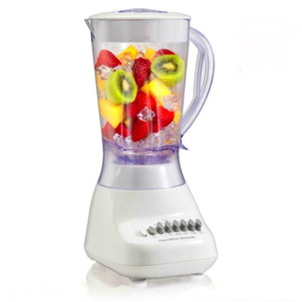 Hamilton Beach® 50166 Smoothie 10-Speed Blender w/Wave-Action System, White, 575W