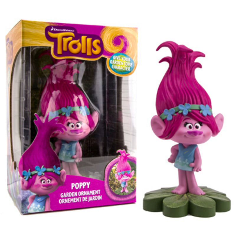 Trolls™ DWTR312 Poppy Miniature Garden Gnome Ornament