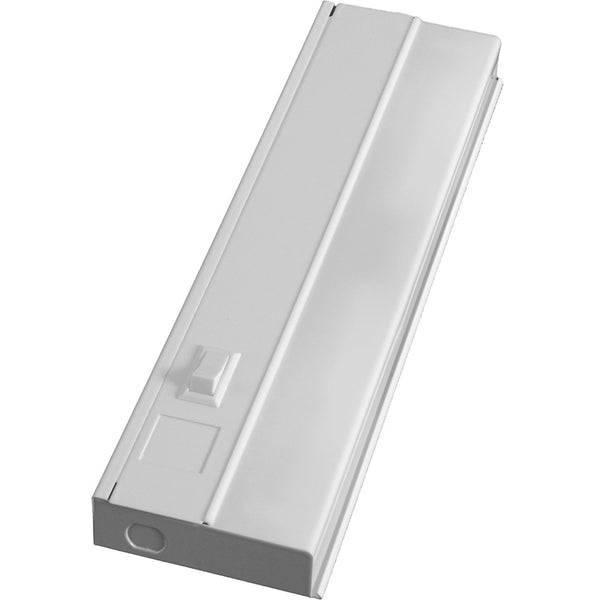 GE 16029 Under Cabinet Fluorescent Light Fixture, Metal, White, 13""